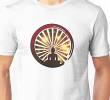 Enso Zen Circle, Meditation, Buddha, Buddhism, Japan, Sun Unisex T-Shirt