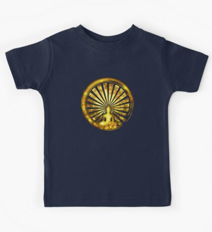 Enso Zen Circle of Enlightenment, Meditation, Buddha, Buddhism, Japan Kids Tee