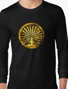 Enso Zen Circle of Enlightenment, Meditation, Buddha, Buddhism, Japan Long Sleeve T-Shirt