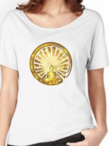 Enso Zen Circle of Enlightenment, Meditation, Buddha, Buddhism, Japan Women's Relaxed Fit T-Shirt