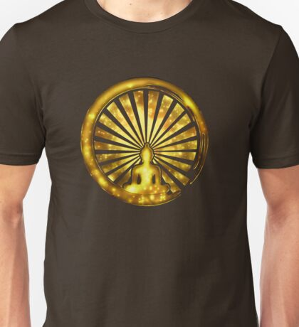 Enso Zen Circle of Enlightenment, Meditation, Buddha, Buddhism, Japan Unisex T-Shirt