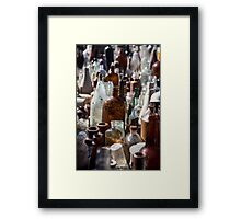 I want to bottle your love  Framed Print