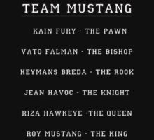 Team Mustang by GoldLantern