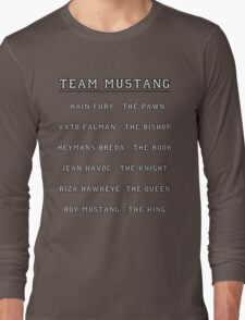 Team Mustang Long Sleeve T-Shirt