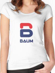 Royal Tenenbaum BAUM variation Women's Fitted Scoop T-Shirt