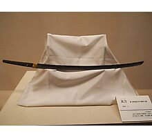 Japanese Sword Photographic Print