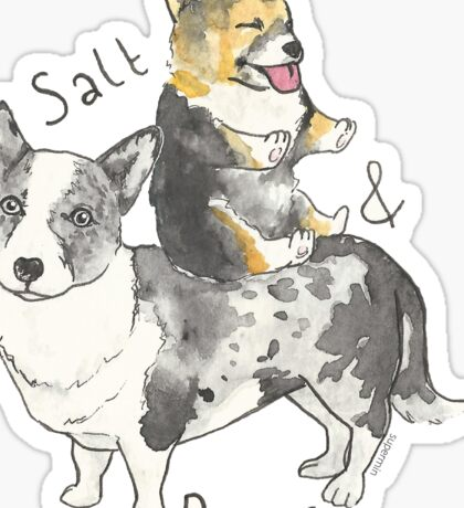 Salt n Pepper Sticker