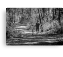 Fathers are so important  ... Canvas Print