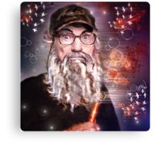 Uncle Si is Surprised Canvas Print