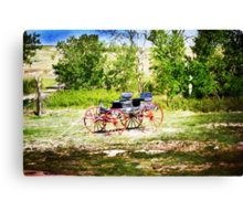Vintage Buggy Canvas Print