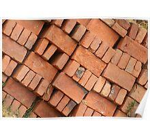 Adobe Bricks Stacked Poster
