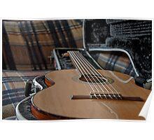 Classical Guitar HDR Poster