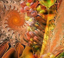 Autumn Cheer with Grapes, Mixed media art by walstraasart
