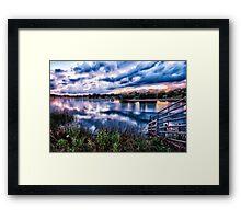 Waters Edge. Framed Print