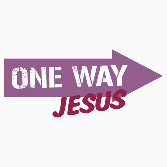 jesus one way - photo #10