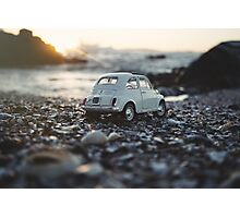 FIAT on the rocks Photographic Print
