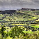 A Tuscan Landscape by Robyn Carter