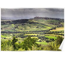 A Tuscan Landscape Poster