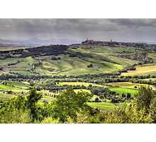 A Tuscan Landscape Photographic Print