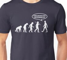 Evolution of Man Messed Up Unisex T-Shirt
