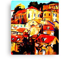 sun City Canvas Print