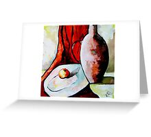 Still Life Greeting Card