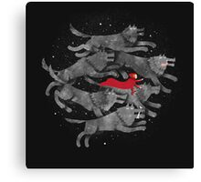 Run with the pack Canvas Print