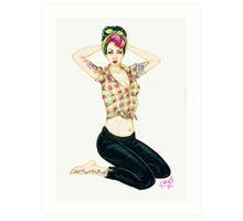 Miss Behavin' Art Print