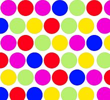 Polka dot, Colors set 1 by sebmcnulty