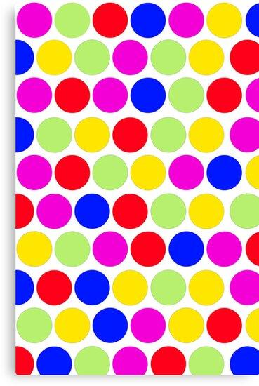 Polka dot, Colors set 1 by sebmcnulty
