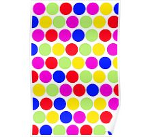 Polka dot, Colors set 1 Poster