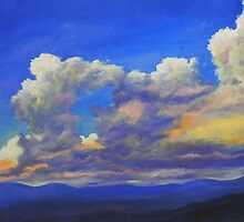 Clouds On The Horizon by Steven Guy Bilodeau