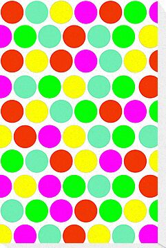 Polka dot, Colors set 2 by sebmcnulty