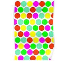 Polka dot, Colors set 2 Poster