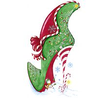 Candy Cane Photographic Print