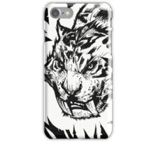 Saber-toothed iPhone Case/Skin