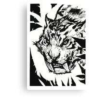 Saber-toothed Canvas Print