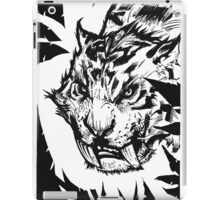 Saber-toothed iPad Case/Skin
