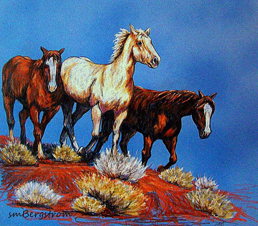 """Wild Trio"" by Susan Bergstrom"