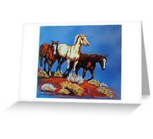 """Wild Trio"" Greeting Card"