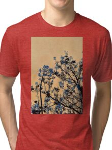Beckon the Blue Tri-blend T-Shirt