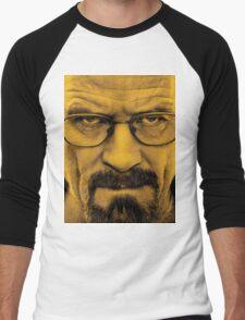 "Breaking Bad - Walter White (Bryan Cranston) ""The One Who Knocks"" Men's Baseball ¾ T-Shirt"
