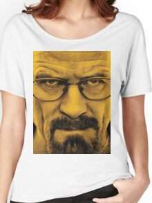 """Breaking Bad - Walter White (Bryan Cranston) """"The One Who Knocks"""" Women's Relaxed Fit T-Shirt"""