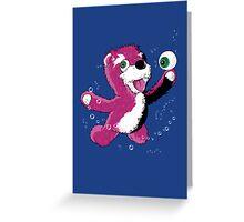 Breaking Bear Greeting Card