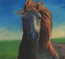 Ginger Rose by Steven Guy Bilodeau