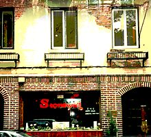 Stonewall, Christopher St,, NYC, NY by Ellen Turner