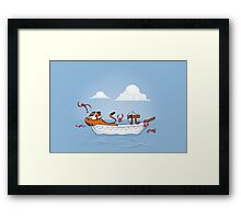 Life of Pi Framed Print