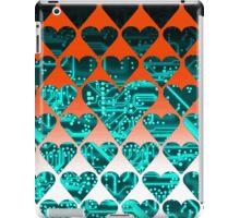 love circuit, cyan iPad Case/Skin