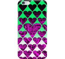 love circuit, violet iPhone Case/Skin