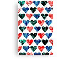love circuit, Colors set 1 Canvas Print